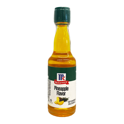 McCormick Pineapple Flavor Extract 0.6oz Front