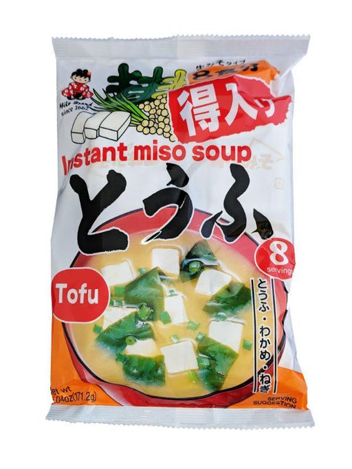 Miko Instant Miso Soup With Tofu 6.04oz Front