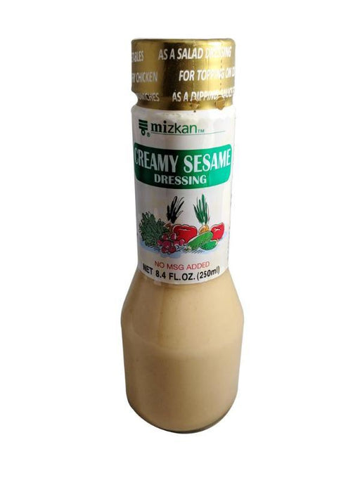 Package Mizkan Creamy Sesame Dressing 8.4oz Front