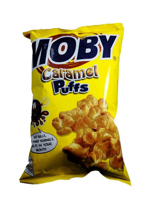 Nutri Snack Moby Caramel Puffs 3.17oz Image 1