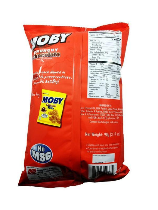 Nutri Snack Moby Crunchy Chocolate 3.17oz