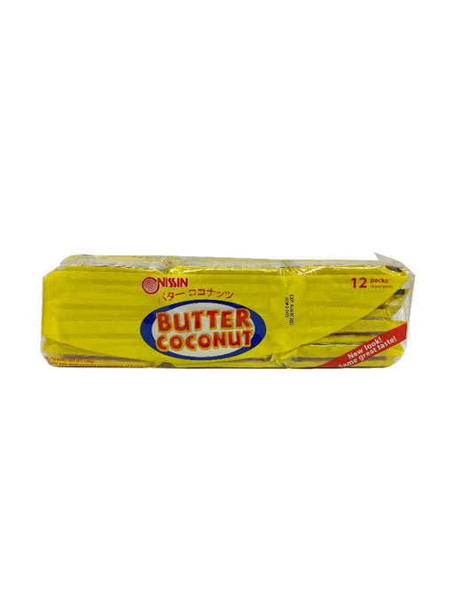 Monde Butter Coconut Biscuits 12 Packs 4.23oz Image 1