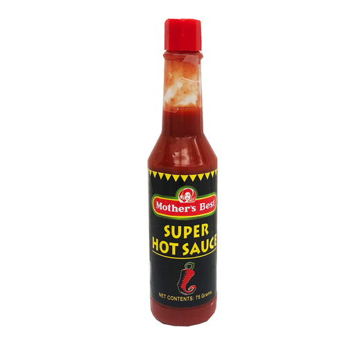 Mother's Best Super Hot Sauce 2.6oz Front