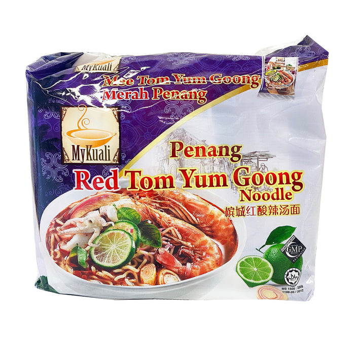 MyKuali Penang Red Tom Yum Goong Noodle 4 Pack 14.82oz image 1