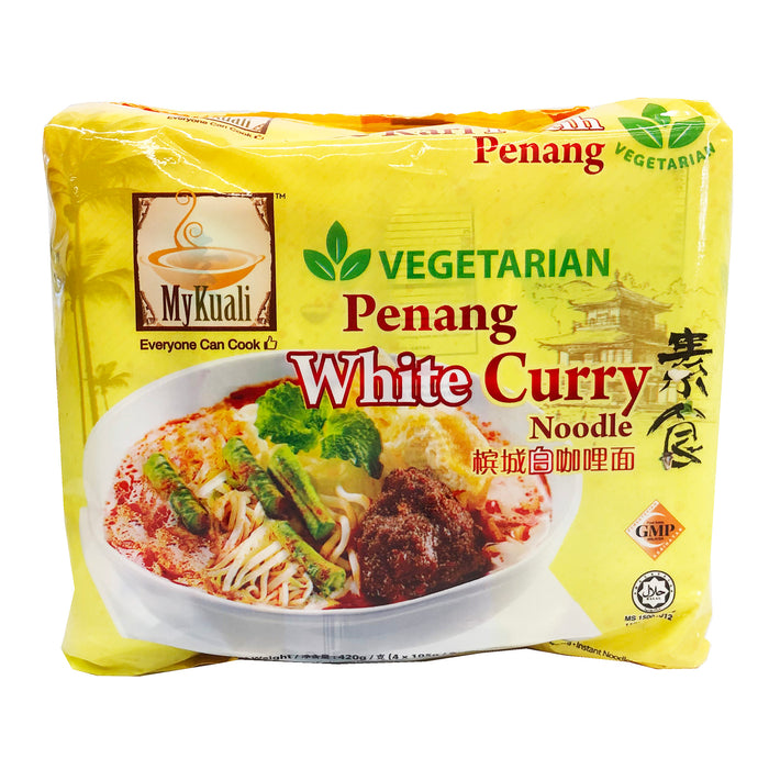MyKuali Vegetarian Penang White Curry Noodle 4 Pack 14.8oz image 1