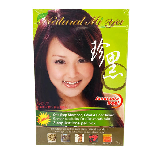Natural Mi Ya Hair Color - Chestnut 2.55oz Image 1