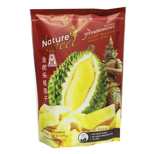Package Nature Sweet Durian 5.25oz Front