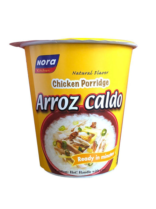 Nora Kitchen Arroz Caldo in Cup 1.69oz Front