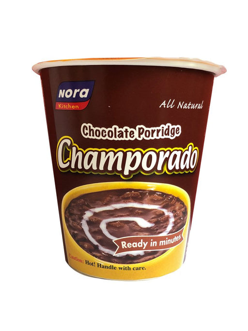 Nora Kitchen Chocolate Porridge Champorado in Cup 3.17oz Front