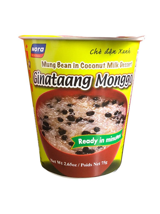 Nora Kitchen Ginataang Monggo in Cup 2.64oz Front