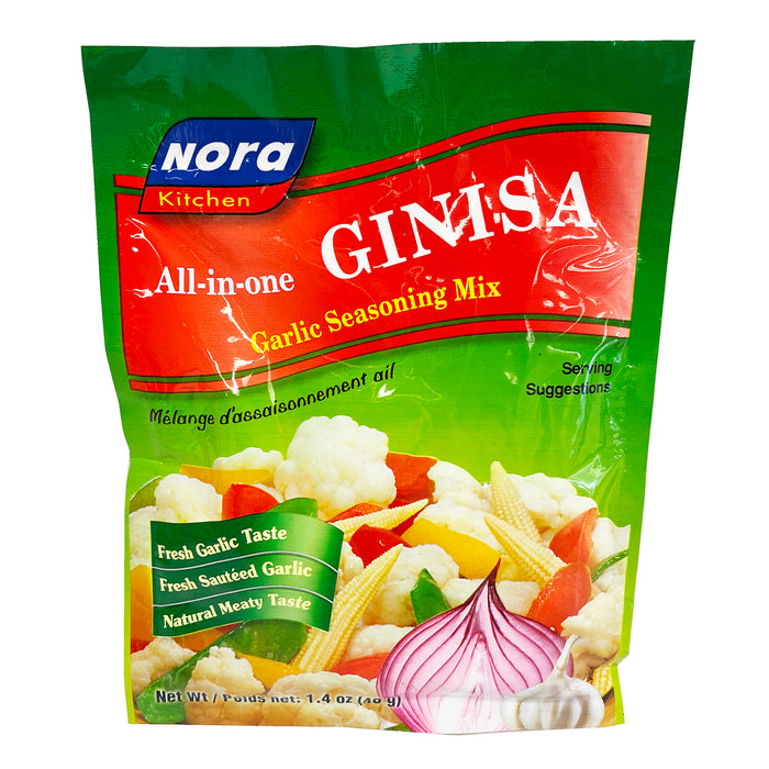 Nora Kitchen All-In-One Ginisa Garlic Seasoning Mix 1.41oz