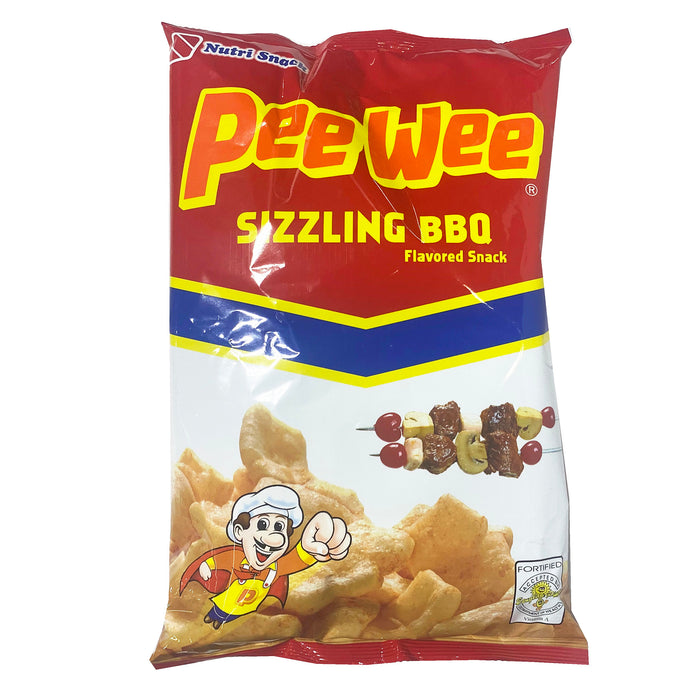 Nutri Snack Peewee Bbq 3.35oz Front