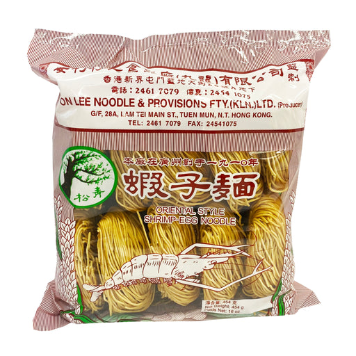 ON Lee Shrimp Egg Noodle 16oz Front