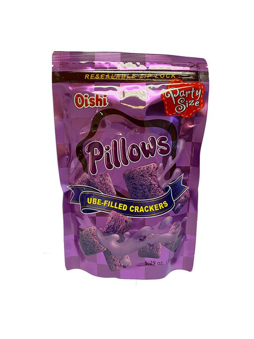 Oishi Pillows Ube 5.29oz Front