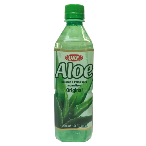 Package Okf Aloe Drink 16.9oz Front