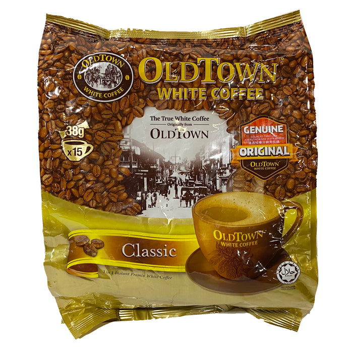 Old Town 3 In 1 White Coffee - Classic 13.2oz Front