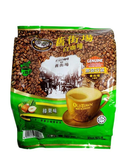 Old Town 3 In 1  White Coffee - Hazelnut Flavor 21.16oz Image 1