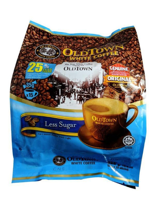 Old Town 3 In 1 White Coffee - Less Sugar 21.16oz Image 1