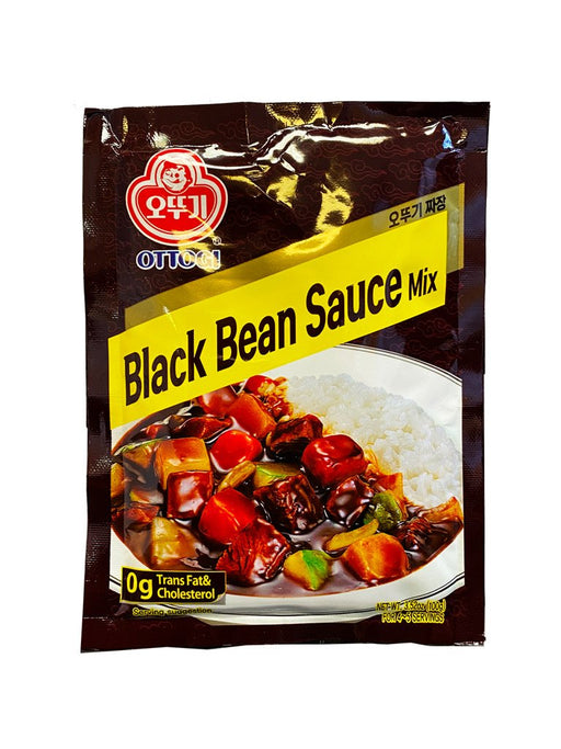 Ottogi Jjajang Powder Black Bean Sauce 3.5oz Front