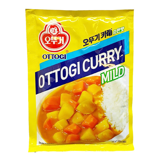 Ottogi Curry Mix - Mild 3.5oz Front
