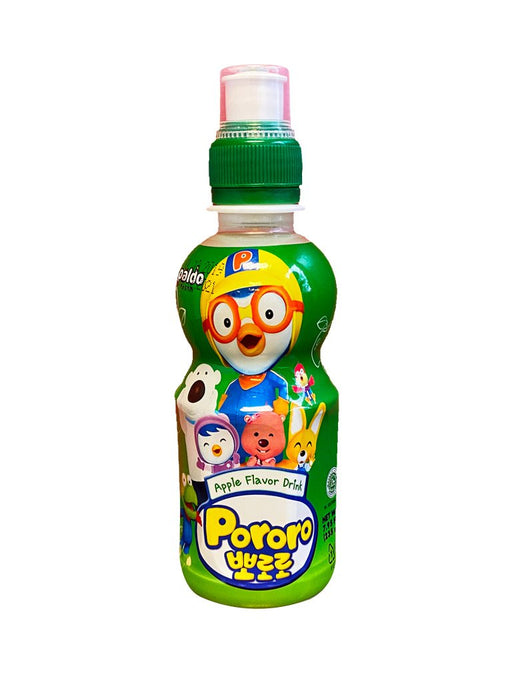 Paldo Pororo Drink Apple Flavor 7.95oz Front