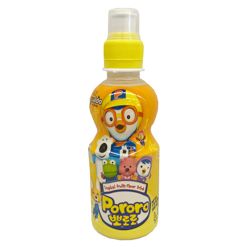 Paldo Pororo Drink Tropical Flavor 7.95oz Front