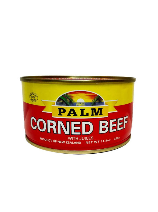 Palm Corned Beef 11.5oz Front