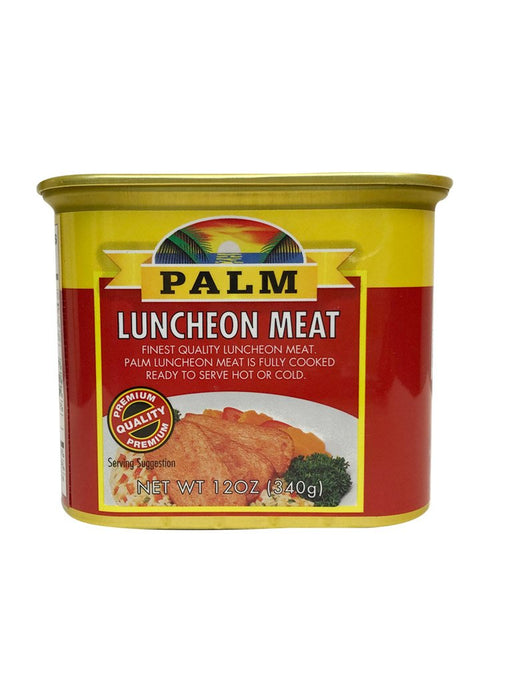 Palm Luncheon Meat 12oz Front