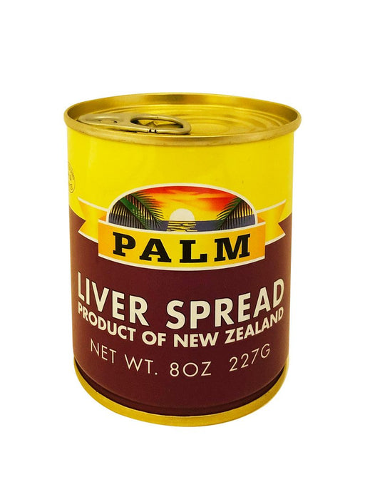 Palm Liver Spread 8oz Front