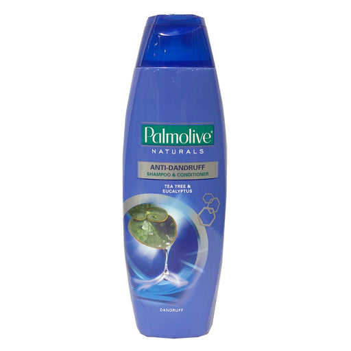 Package Palmolive Naturals Anti Dandruff Shampoo and Conditioner (Blue) 6.08oz Front