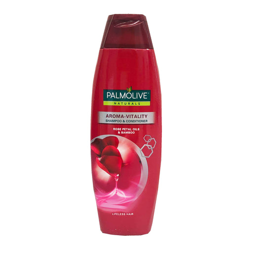 Palmolive Naturals Aroma Vitality Shampoo and Conditioner (Fuschia) 6.08oz Front
