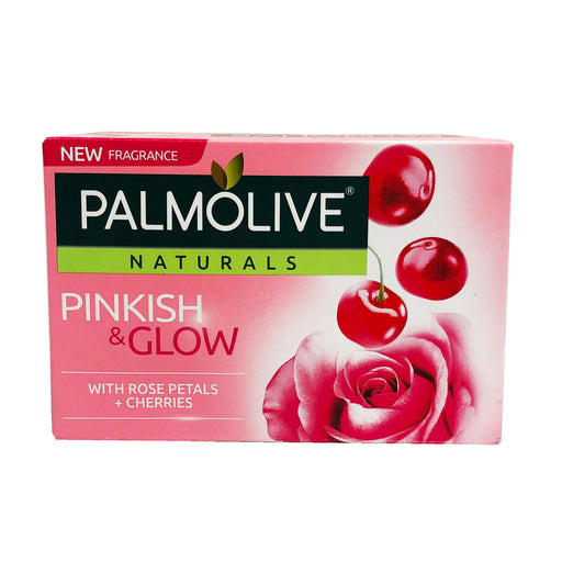 Palmolive Naturals Irresistible Softness Soap with Milk and Rose Petals (Pink) 4oz Front