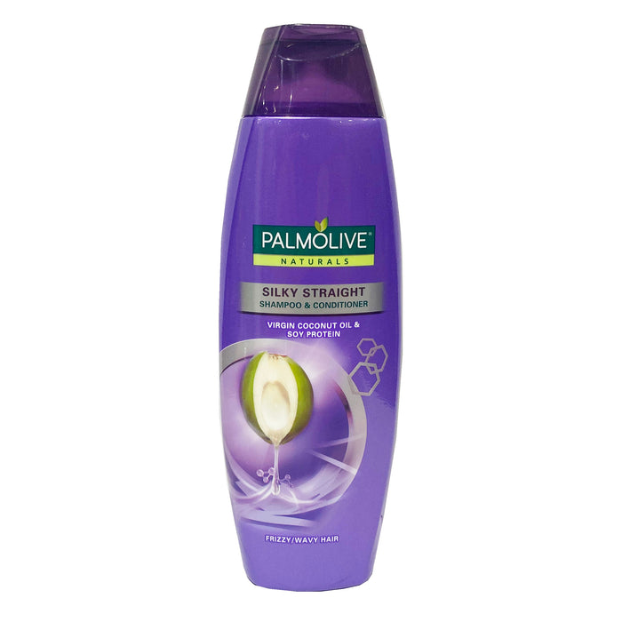 Palmolive Naturals Silky Straight Shampoo and Conditioner (Purple) 6.08oz