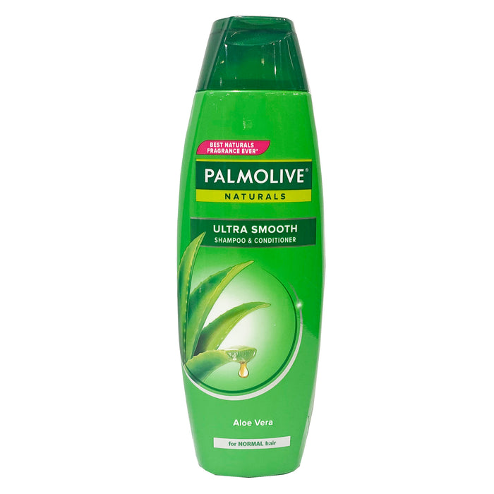 Palmolive Naturals Ultra Smooth Shampoo and Conditioner (Green) 6.08oz Front