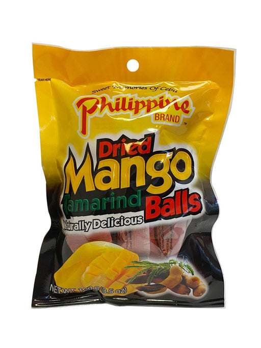 Philippine Brand Dried Mango Tamarind 3.5oz Front