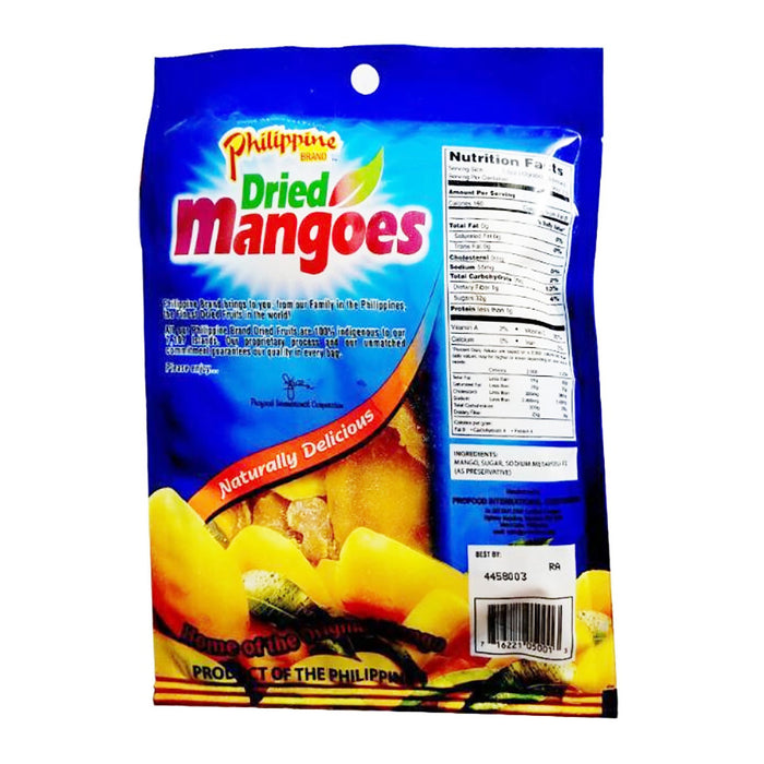 Philippine Brand Dried Mangoes 3.5oz Image 2