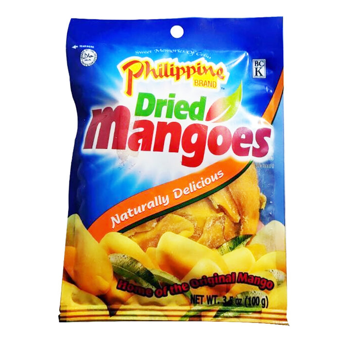 Philippine Brand Dried Mangoes 3.5oz Image 1