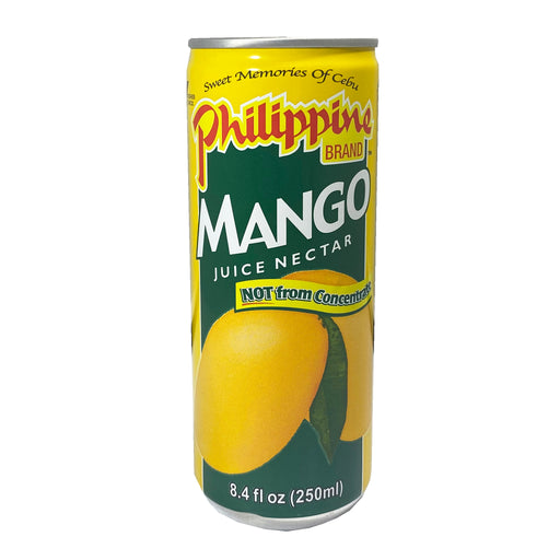 Package Philippine Brand Mango Juice 8.4oz Front