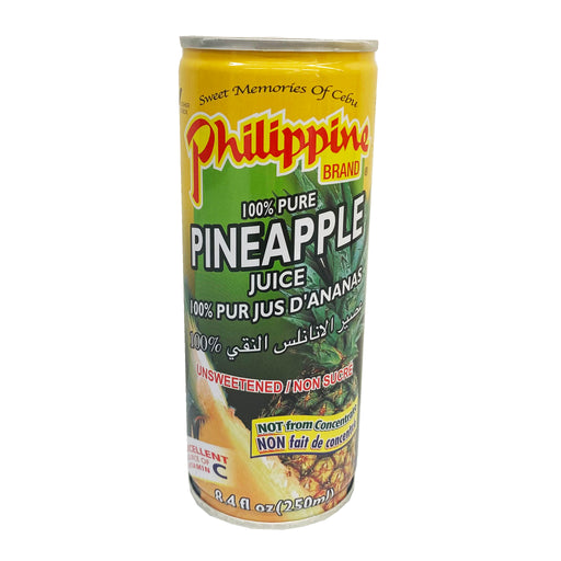 Package Philippine Brand Pineapple Juice 8.4oz Front