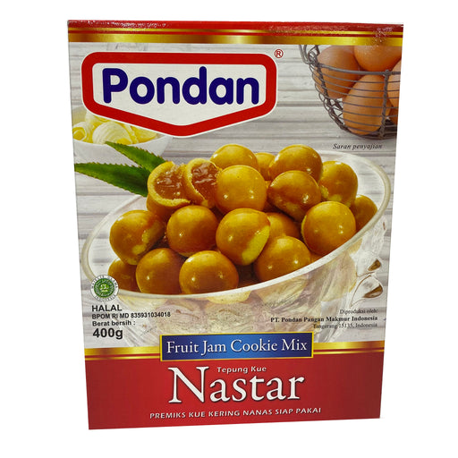 Pondan Nastar Cake Mix Fruit Jam Cookie Mix 14.1oz Front