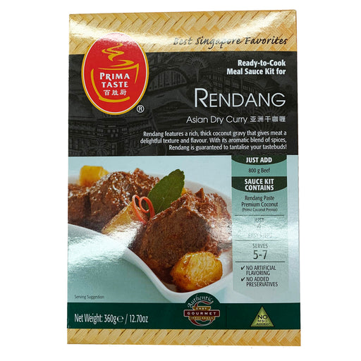 Prima Taste Rendang Curry Sauce Kit 12.70oz Front