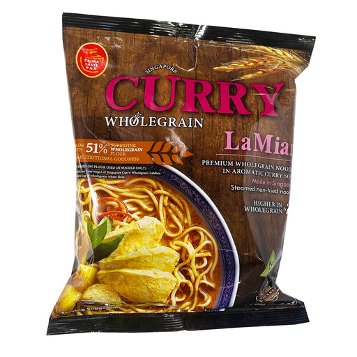 Prima Taste Wholegrain Curry La Mian 6.5oz Front