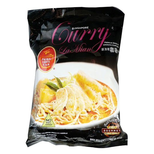 Prima Taste Curry La Mian 6.2oz Front