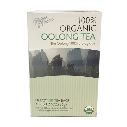 Prince of Peace Organic Oolong Tea 1.27oz Front