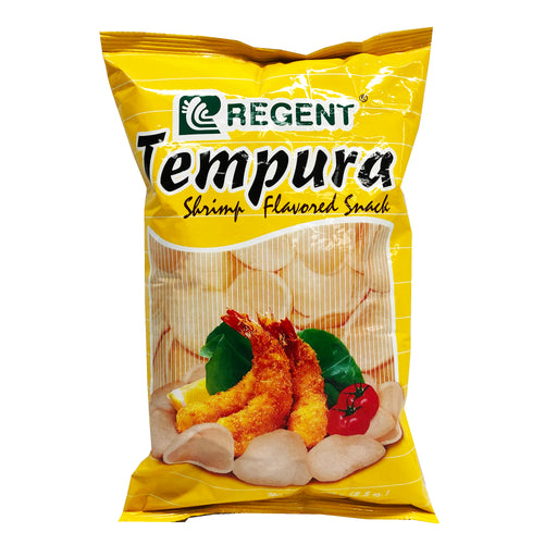 Regent Shrimp Tempura Flavored Snacks 3.5oz Front