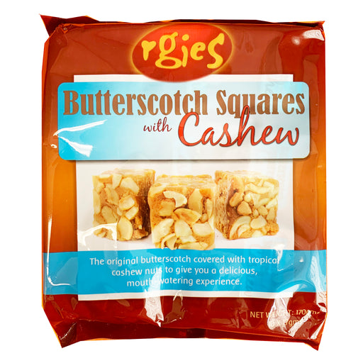 Rgies Butterscotch Squares With Cashew 5.9oz Image 1