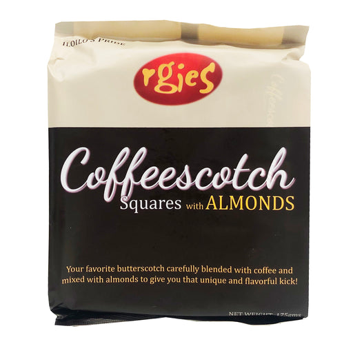 Rgies Coffeescotch Squares With Almonds 6.17oz Image 1