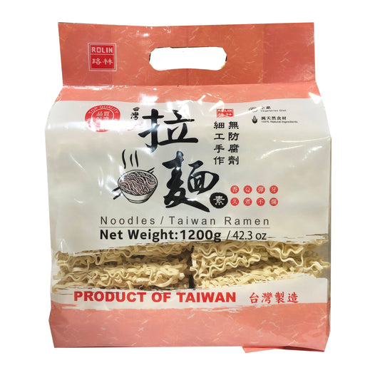 Rolin Dried Taiwan Ramen Noodles 42.3oz Front