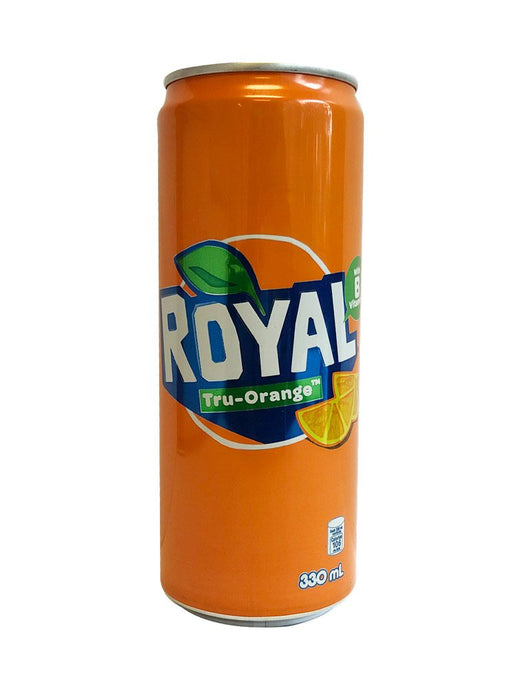 Royal Tru-Orange In Can 11.1oz Front