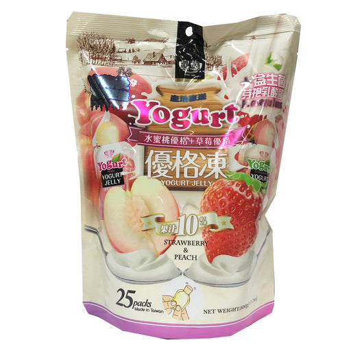 Royal Family Yogurt Jelly Strawberry and Peach 17.7 oz Image 1